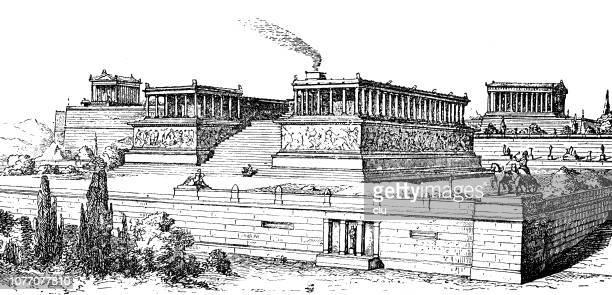 古典ギリシャ語、ペルガモンの大祭壇 - ペルガモン点のイラスト素材/クリップアート素材/マンガ素材/アイコン素材