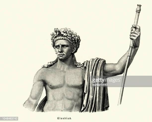 claudius, roman emperor - emperor stock illustrations, clip art, cartoons, & icons