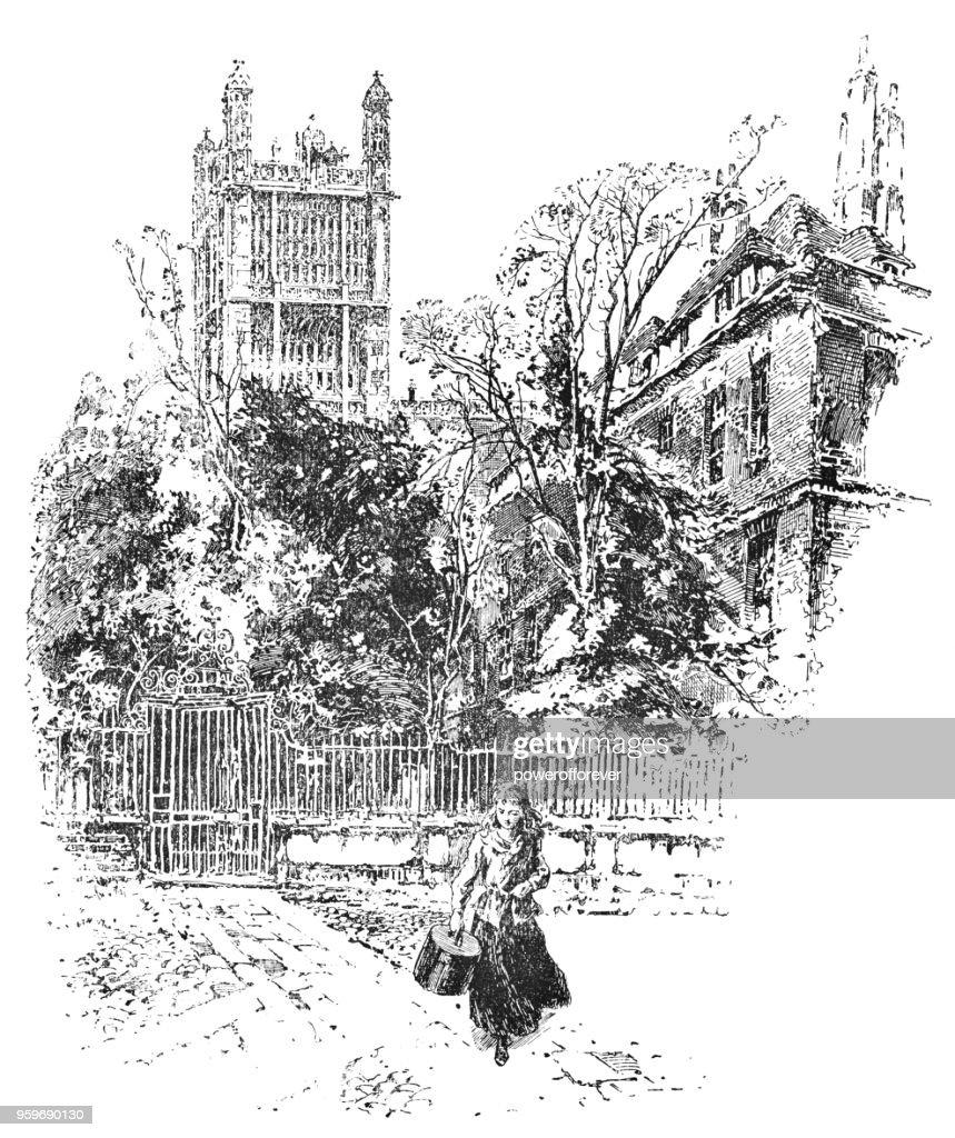 Cliffords Inn in London, England - 19. Jh. : Stock-Illustration