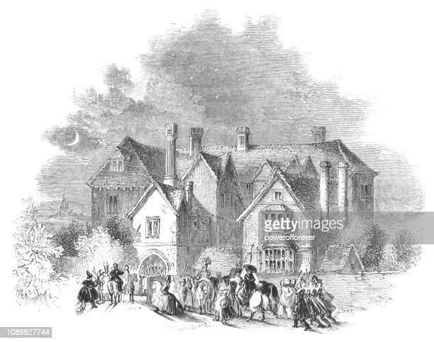 Clopton House in Stratford-upon-Avon, England