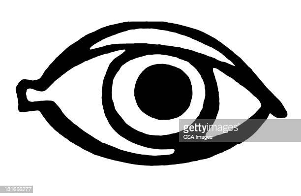 close up of eye - close up stock illustrations