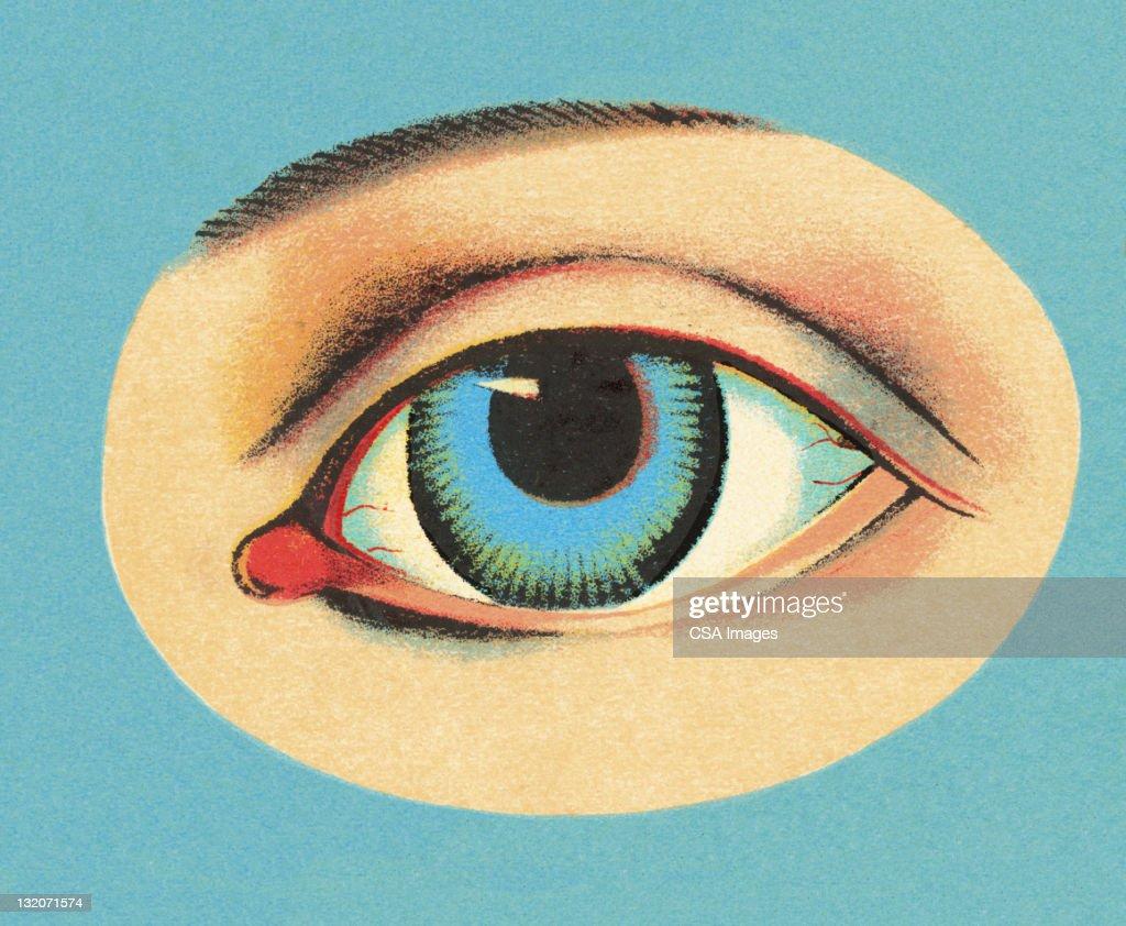 Close up of Eye : stock illustration