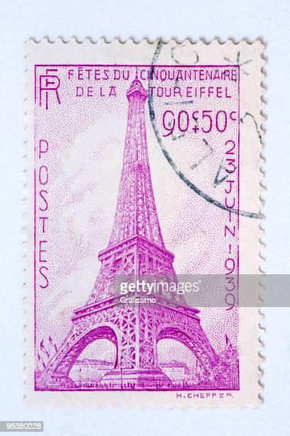 nahaufnahme der französischen post-stamp - 1939 stock-grafiken, -clipart, -cartoons und -symbole