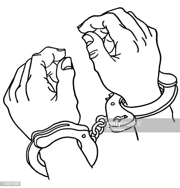 Close up of Handcuffs