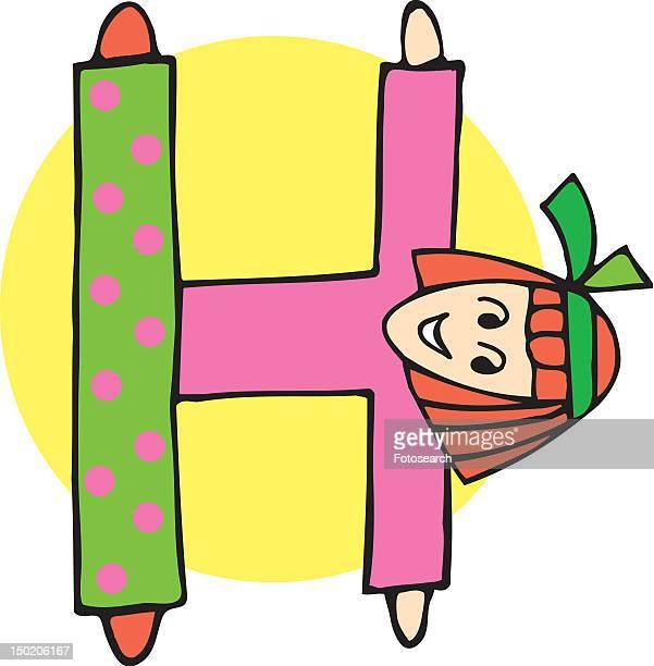 ilustraciones, imágenes clip art, dibujos animados e iconos de stock de close up view of girl forming h - miembro humano