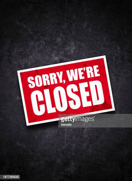 closed sign - closed sign stock illustrations, clip art, cartoons, & icons