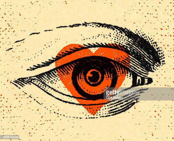 closeup of an eye - ophthalmology stock illustrations, clip art, cartoons, & icons