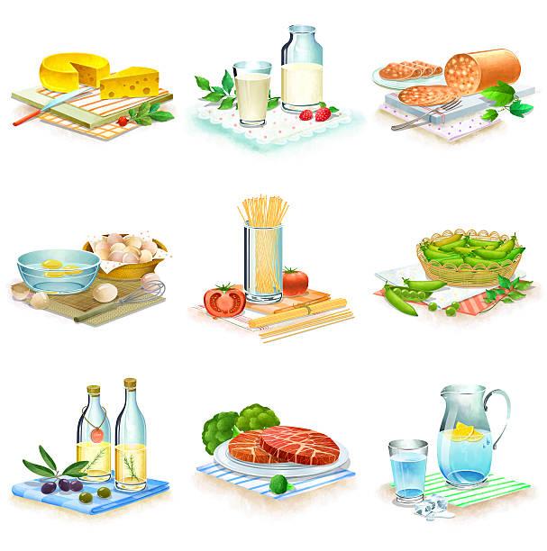 Close-up Of Food Stuff Wall Art