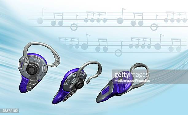 close-up of three hearing aid - hearing aid stock illustrations, clip art, cartoons, & icons