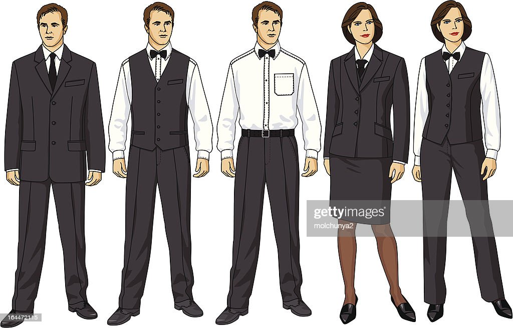 Clothes for waiters