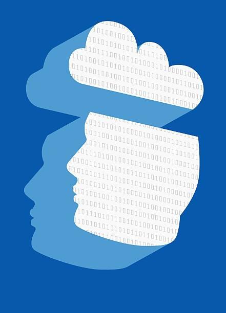 Cloud Computing, Conceptual Artwork Wall Art