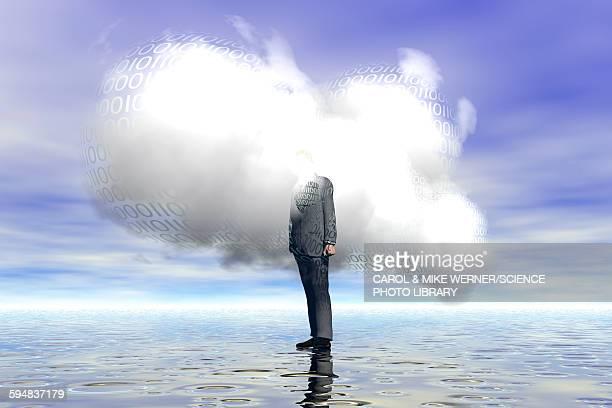 cloud computing, illustration - ignoring stock illustrations, clip art, cartoons, & icons