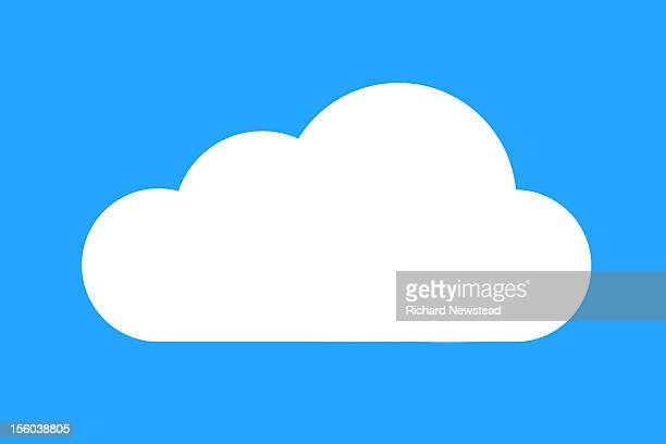 cloud - silence stock illustrations