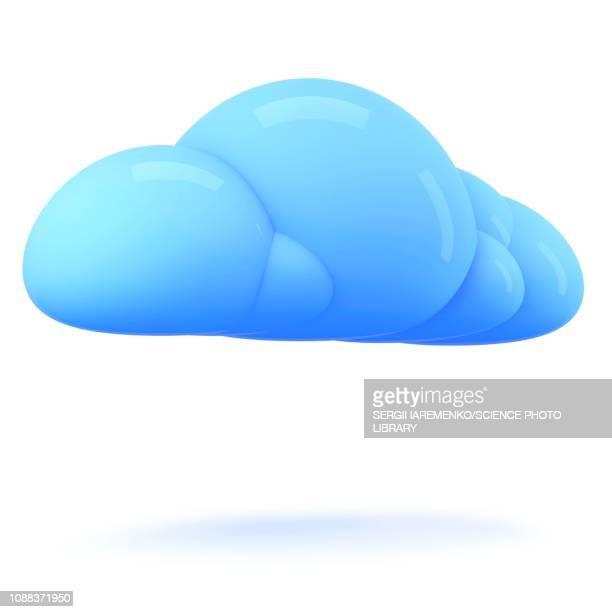 cloud, illustration - cloud computing stock-grafiken, -clipart, -cartoons und -symbole