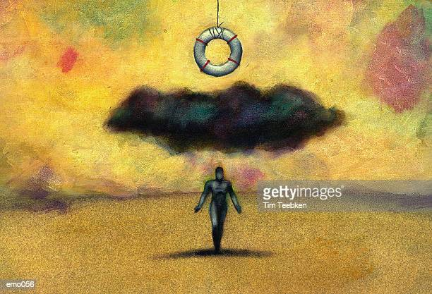 Cloud Obscuring Life Preserver