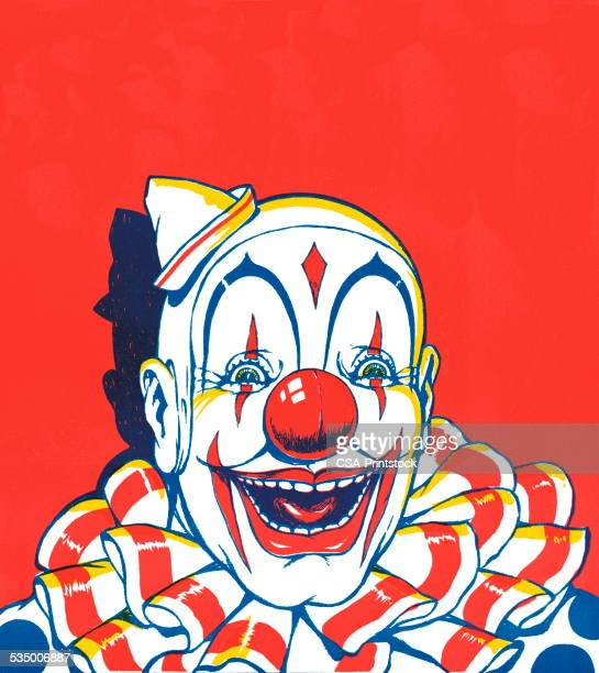 illustrations, cliparts, dessins animés et icônes de clown - clown