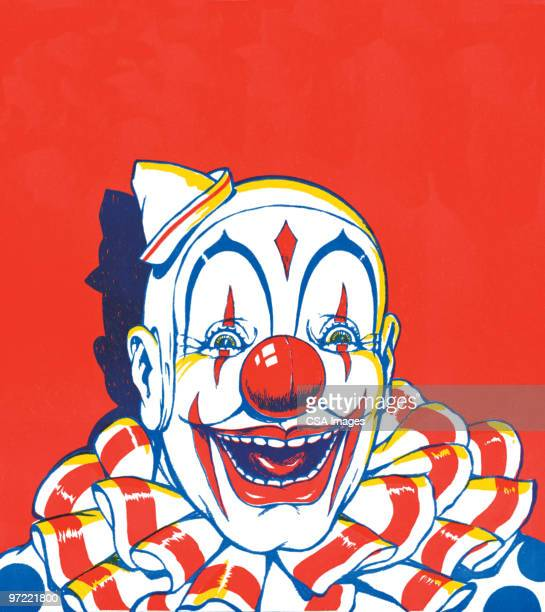 clown - clown stock-grafiken, -clipart, -cartoons und -symbole