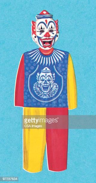 clown - ピエロ点のイラスト素材/クリップアート素材/マンガ素材/アイコン素材
