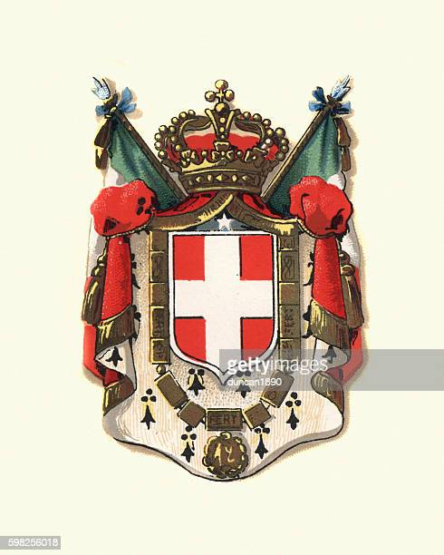 Coat of Arms of Italy, 1898