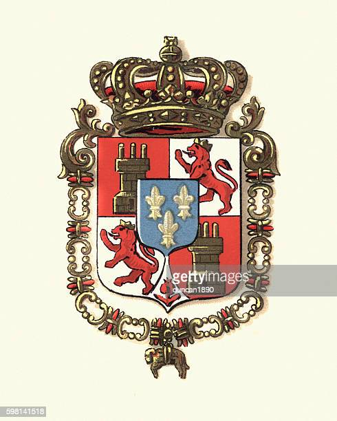 Coat of Arms of Spain, 1898