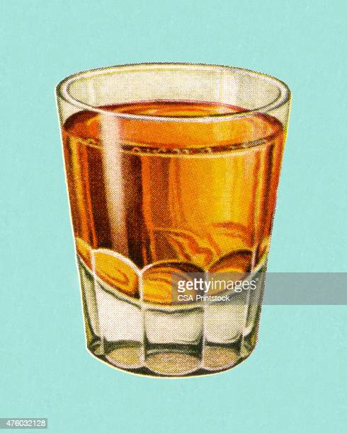 cocktail - whiskey stock illustrations