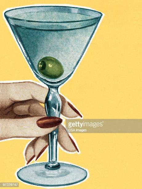 cocktails - vodka stock illustrations, clip art, cartoons, & icons
