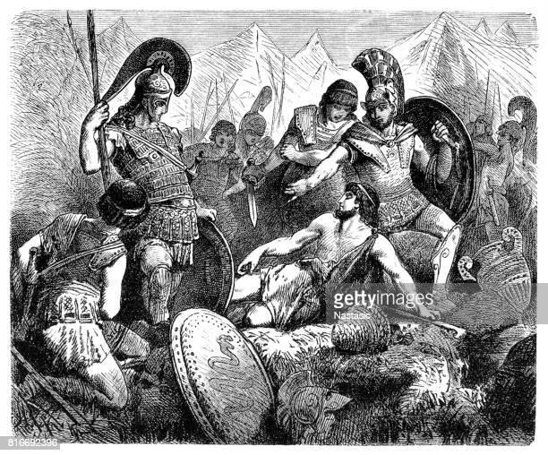 Codrus of Athens dies during battle with Dorians