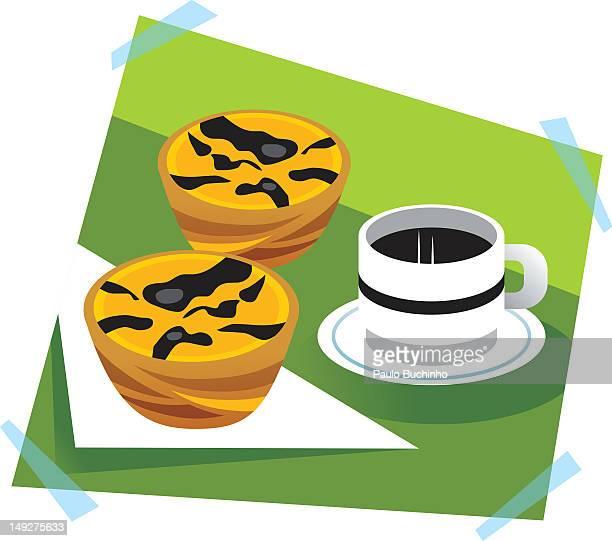 ilustrações de stock, clip art, desenhos animados e ícones de coffee and pastries - buchinho