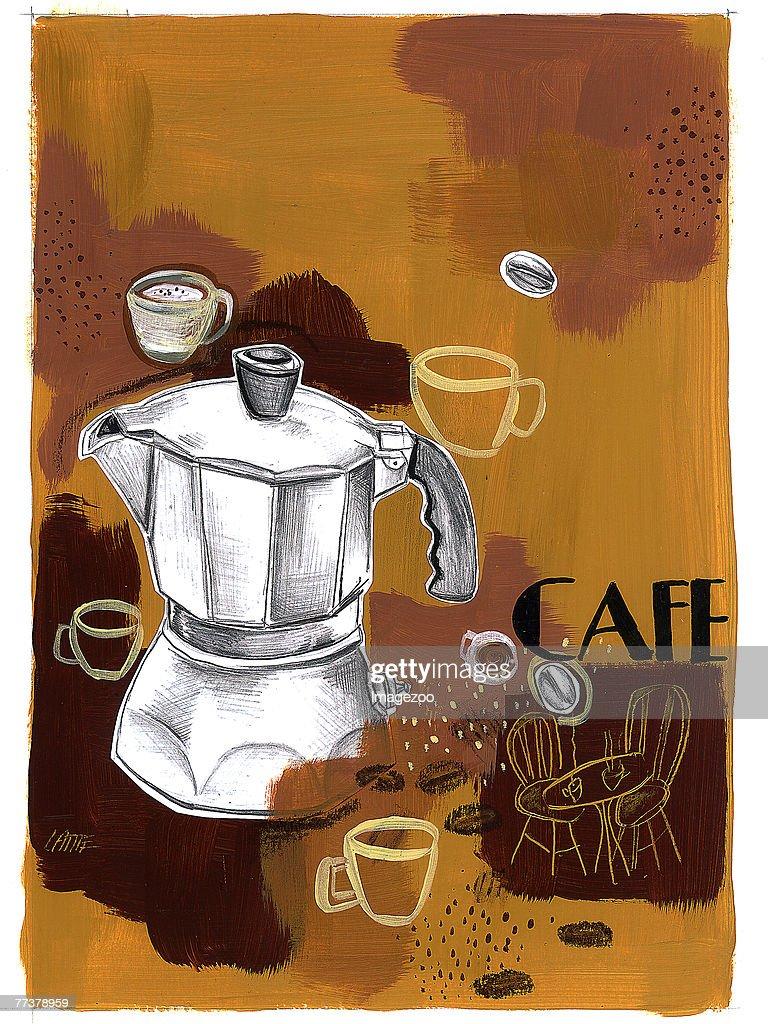 coffee break : Illustration