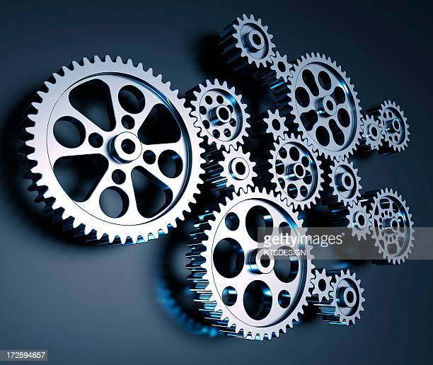 cogs and gears, artwork - zahnrad stock-grafiken, -clipart, -cartoons und -symbole