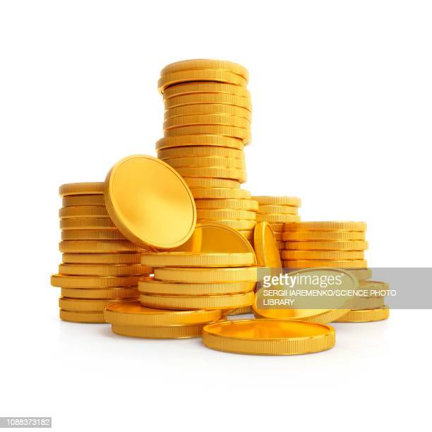 coins, illustration - change stock illustrations