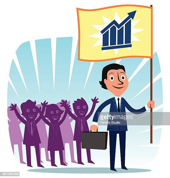 colleague applauding for success of business leader - applauding stock illustrations, clip art, cartoons, & icons
