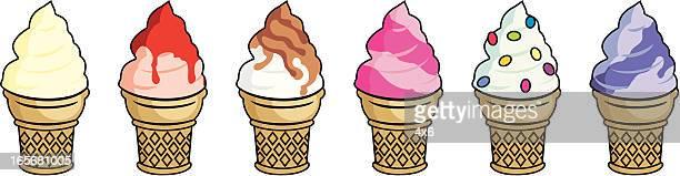 コレクションのアイスクリーム