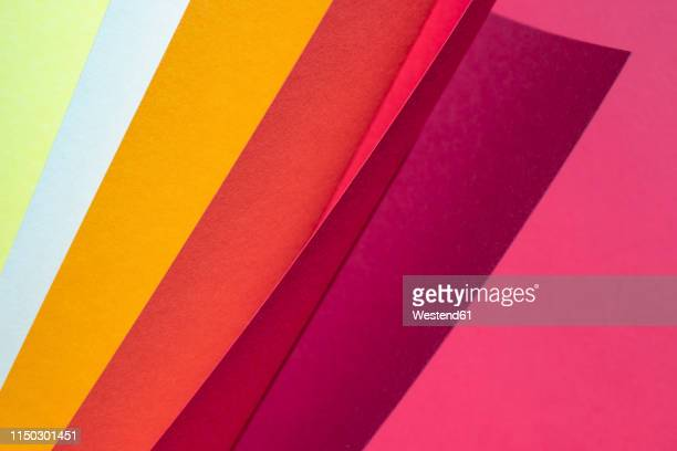 color spectrum papers as an abstract background - digital enhancement stock illustrations
