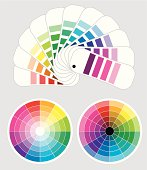 color wheels and  color-samples