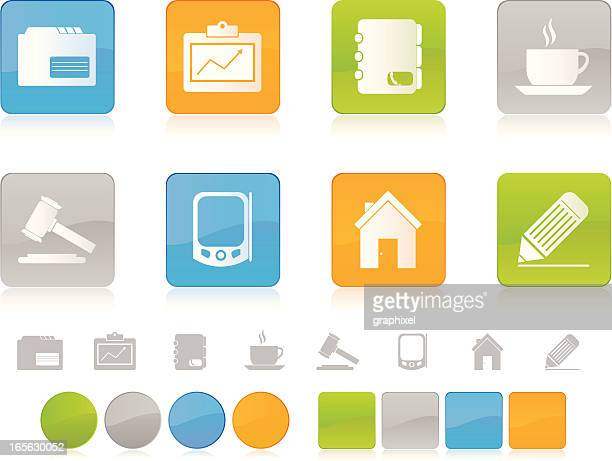 Colorful Business Icons