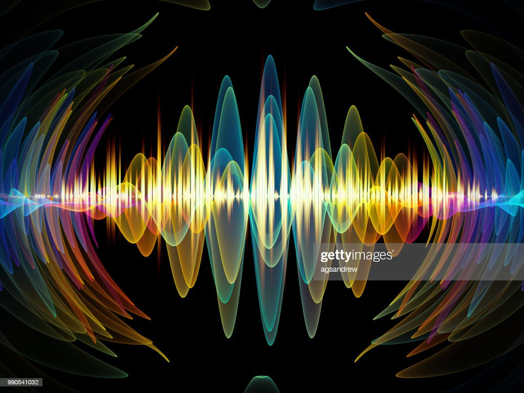 Colorful Oscillation : Stock Illustration