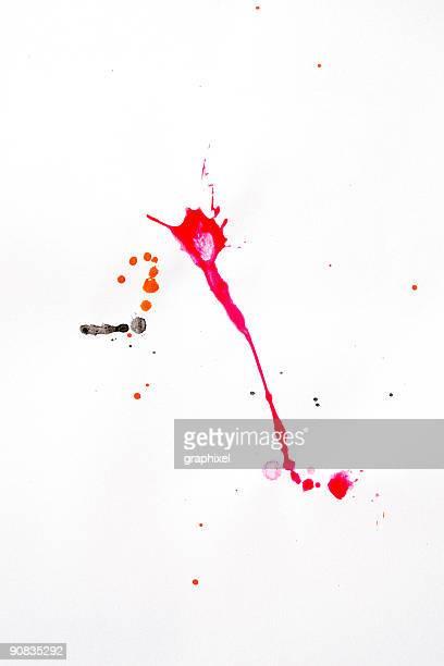 Colorful Splash Paint