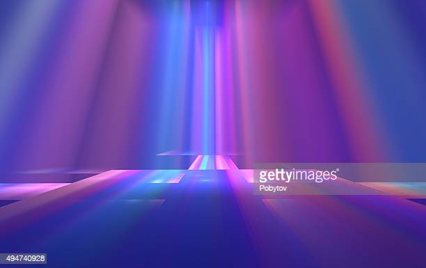 Colorful Stage - Art  Abstract Background