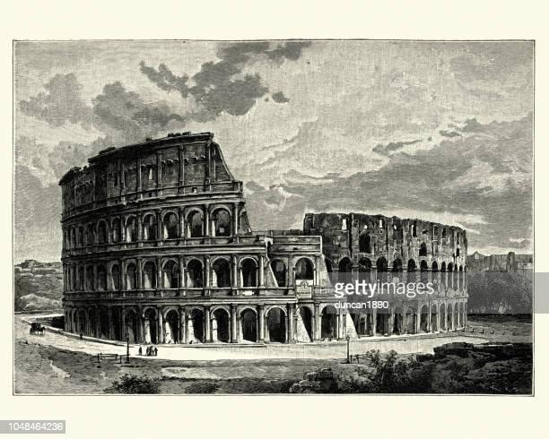 Colosseum, Rome, (Flavian Amphitheatre)