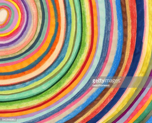 Colourful stripy background pattern