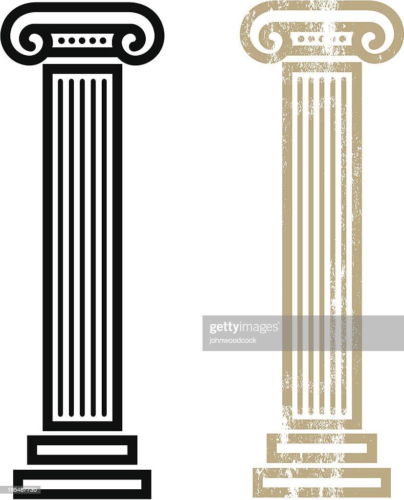 Column : stock illustration