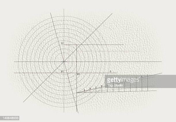 ilustrações de stock, clip art, desenhos animados e ícones de combination of shapes and alphabet - matematica