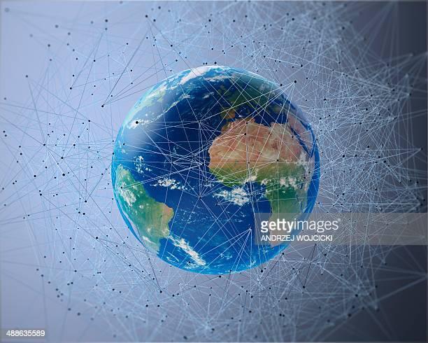 Communication network, conceptual artwork
