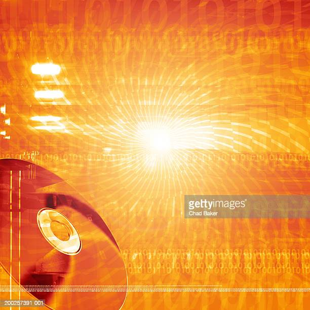 Compact disc and binary code (Digital)