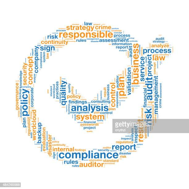 Compliance Word Tag Cloud
