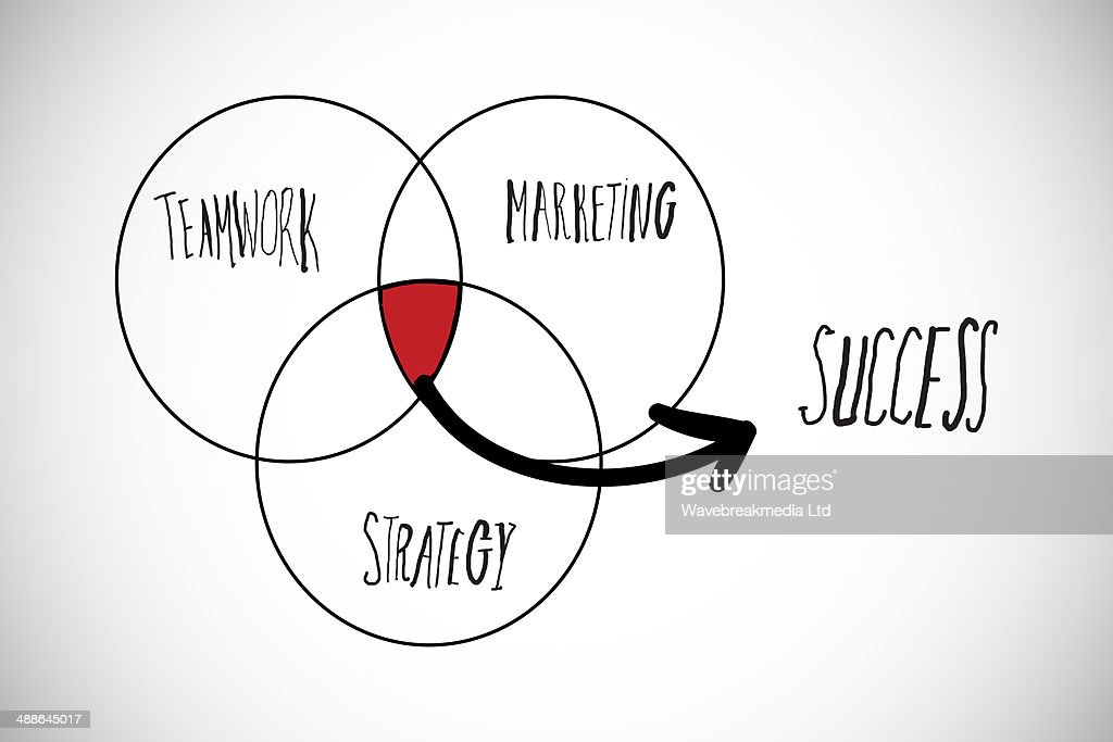 Composite Image Of Success Venn Diagram Stock Illustration Getty