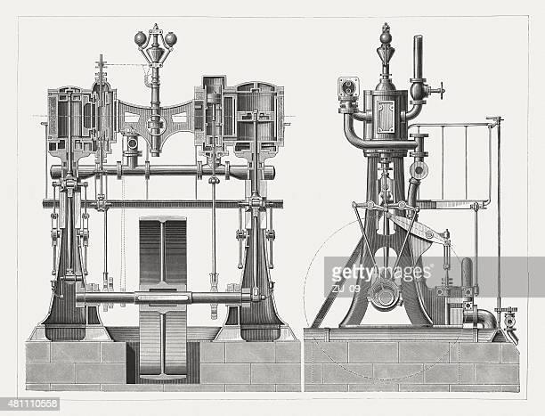 Compound steam engine
