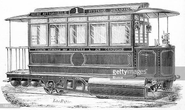 Compressed air tram