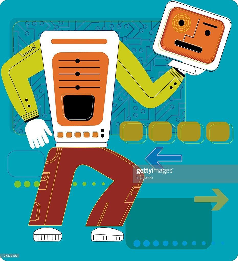 computer guy : Illustration